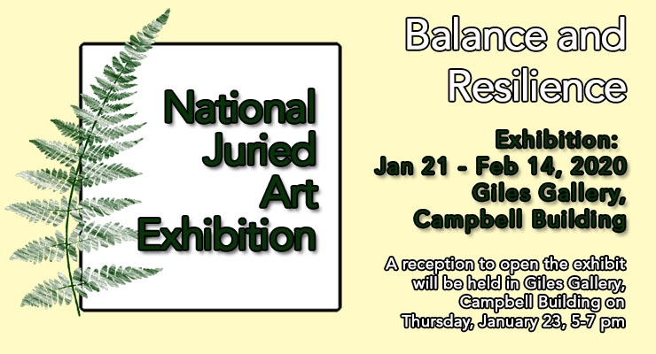 National Juried Art Exhibiton