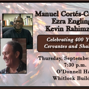 Special Event with EKU Professors